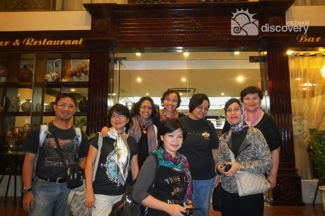 Our clients on first Vietnam trip