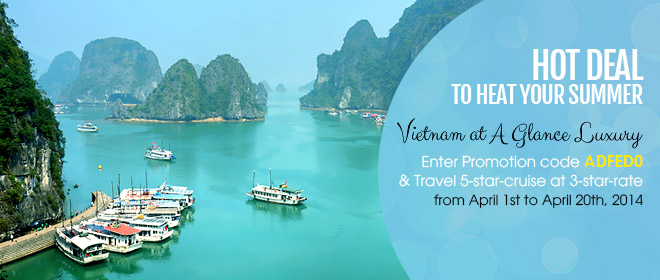 Hot Summer Promotion April - Vietnam Discovery Travel