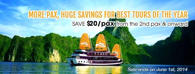 Promotion May from Vietnam Discovery Travel Best Vietnam Package Tour-banner inside
